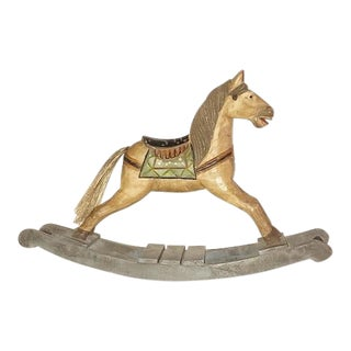 Farmhouse Rocking Horse For Sale