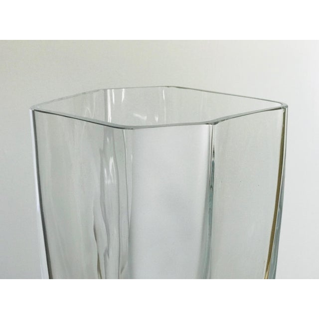 Italian Carlo Moretti Italian Blown Glass Vase For Sale - Image 3 of 8