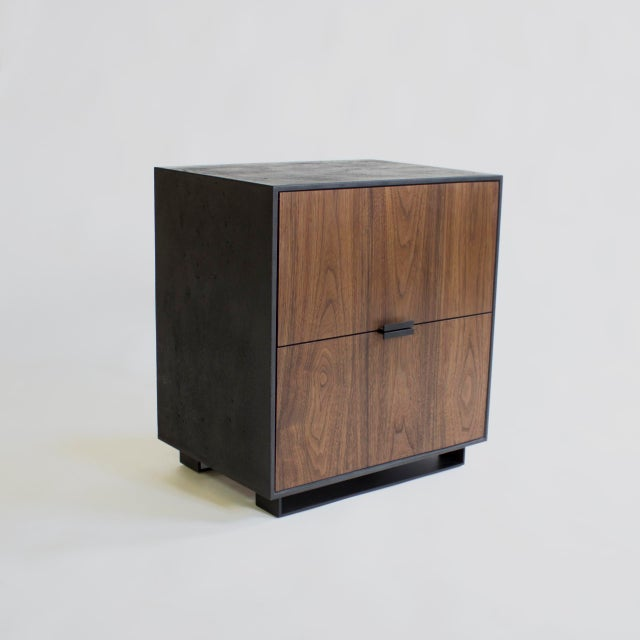 Hanks Concrete Nightstand For Sale - Image 4 of 10