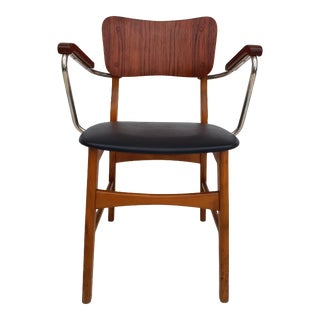 1960s Danish Office Armchair For Sale