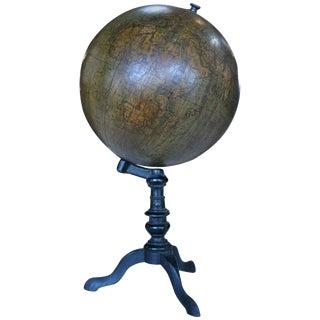 19th Century Italian Ceramic Globe For Sale