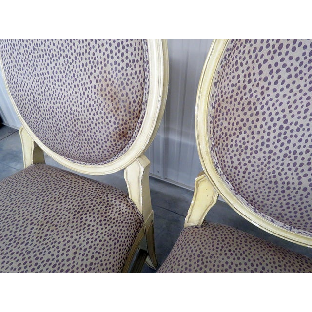 Set of 10 Louis XIV Style Dining Side Chairs For Sale - Image 10 of 13
