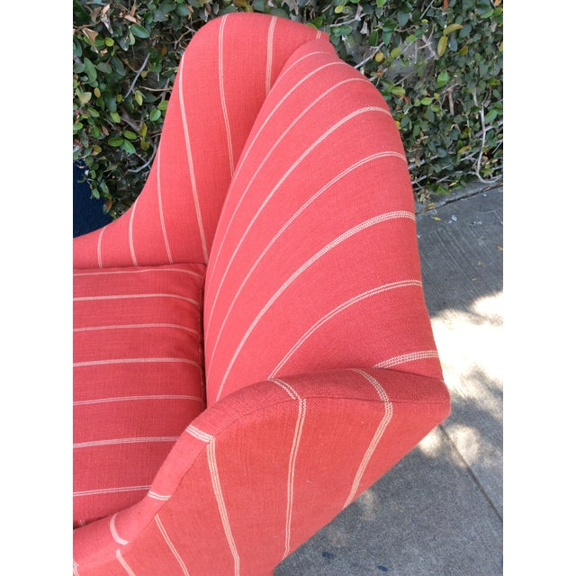 Red Side Chairs - A Pair For Sale In Los Angeles - Image 6 of 9