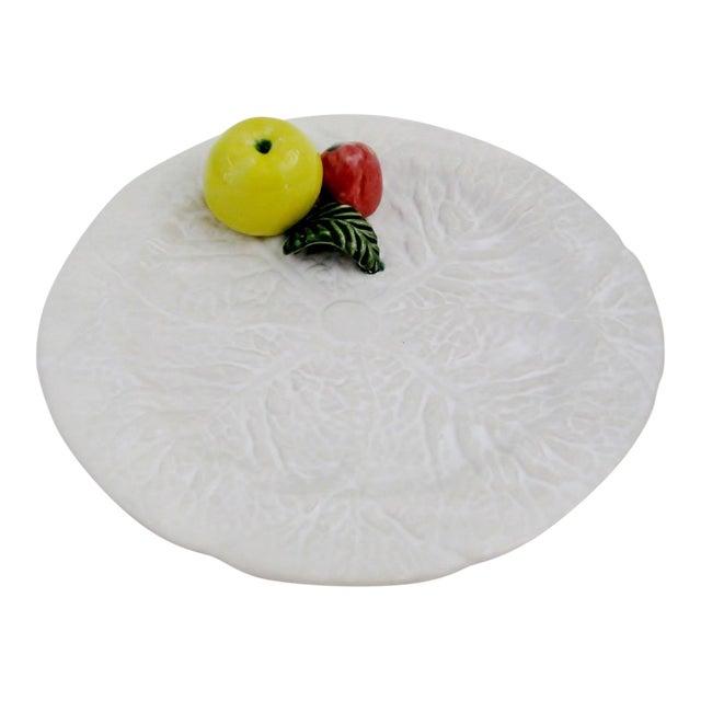 Portuguese Trompe l'Oeil Plate For Sale