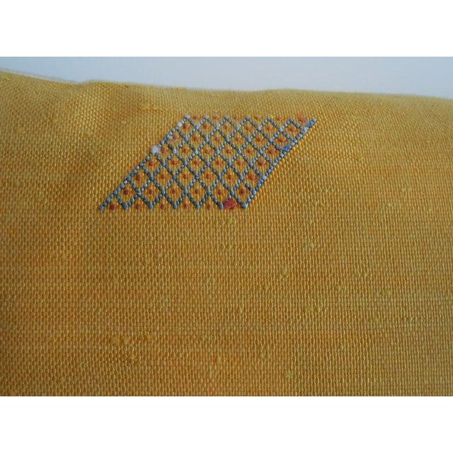 Geometric Motif Pillow - Image 7 of 11