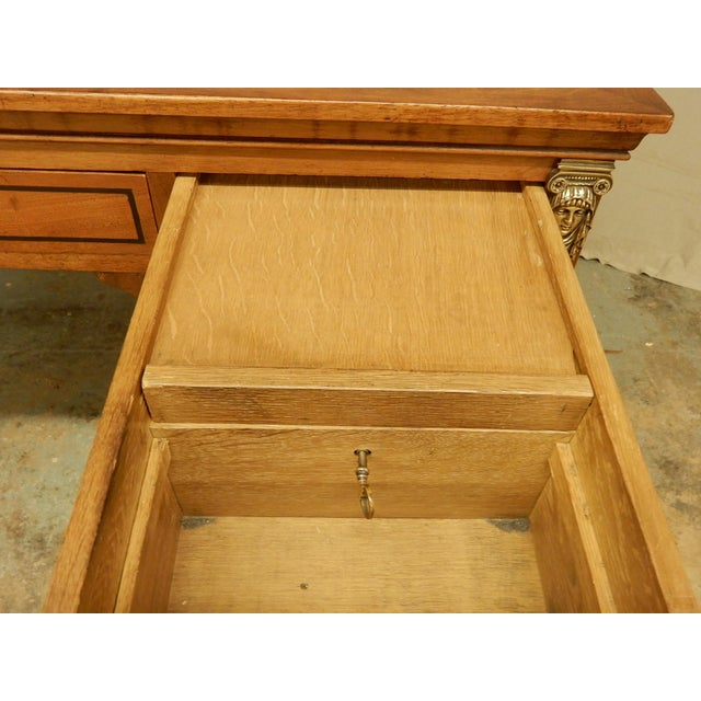 Walnut 19th Century French Desk For Sale - Image 7 of 9