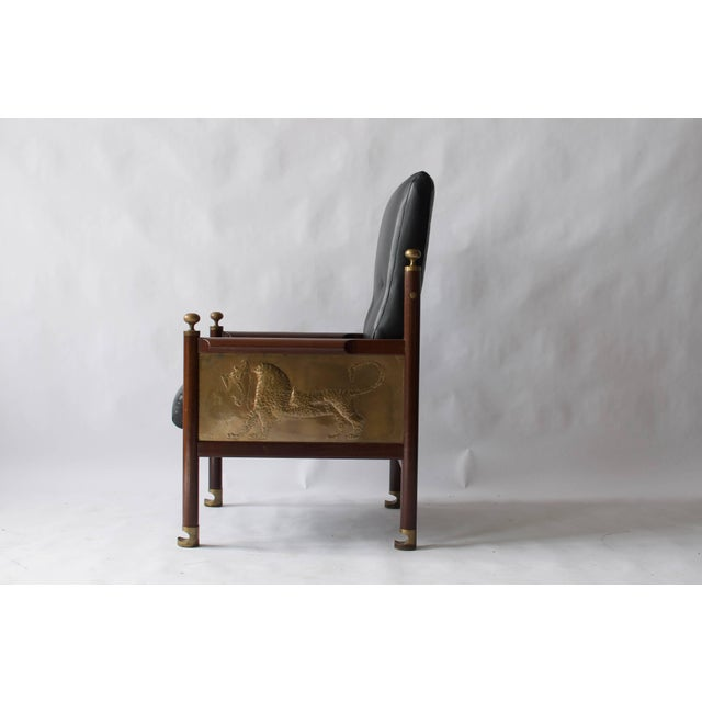 Mid-Century Modern Rare Chair Designed by Ib Kofod-Larsen For Sale - Image 3 of 9