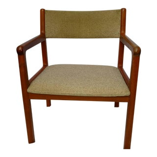 Jl Moller Danish Mid Century Modern Teak Dining Chair For Sale