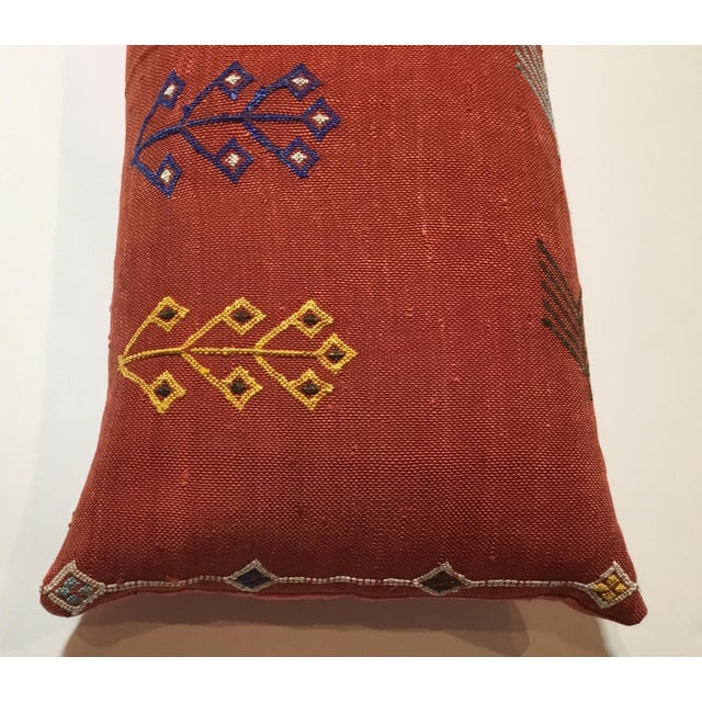 Moroccan Cactus Silk Pillow - Image 3 of 10