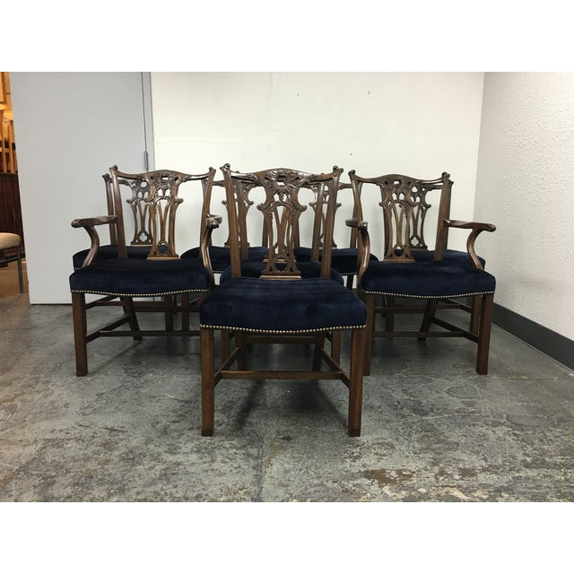 Chippendale Style Chairs - Set of 8 - Image 4 of 11
