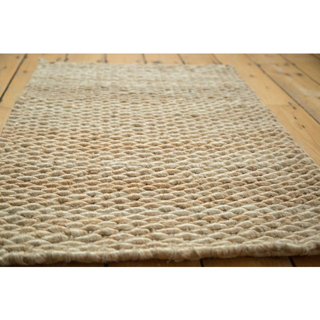 """Hand Braided Ivory Entrance Mat - 2'2"""" X 3'2"""" - Image 2 of 2"""