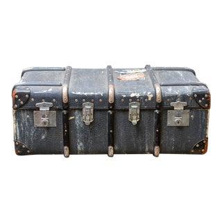 Vintage Steamer Travel Trunk For Sale