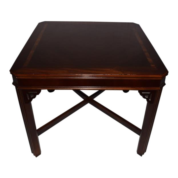 1990s Chippendale Lane Cocktail/End Table For Sale