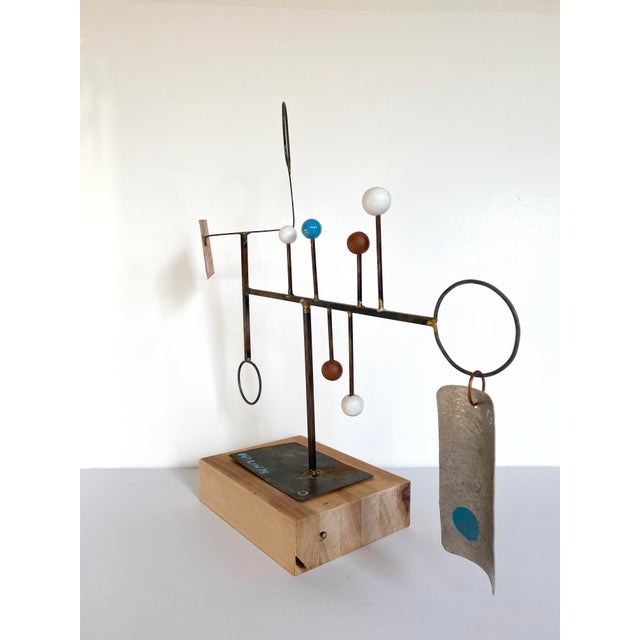 Abstract 20th Century Abstract Constructivist Sculpture For Sale - Image 3 of 9