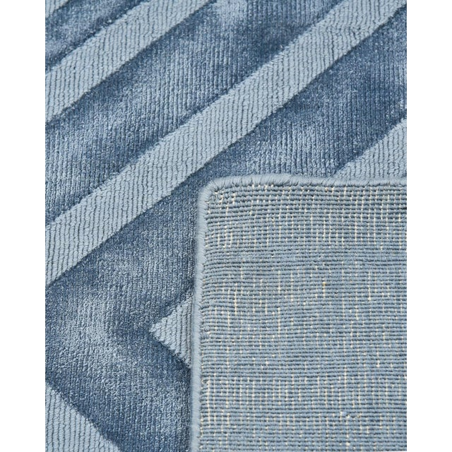 Contemporary Josefina, Handmade Runner Rug - 2' 6 x 10 For Sale - Image 3 of 8