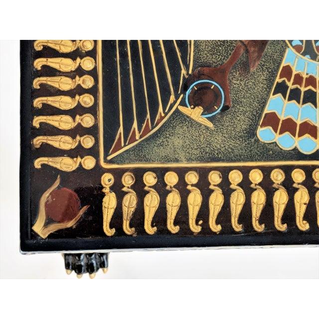 Egyptian Nekhbet Occasional Table - Image 6 of 11