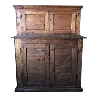 Italian Antique Sacristy Cabinet For Sale