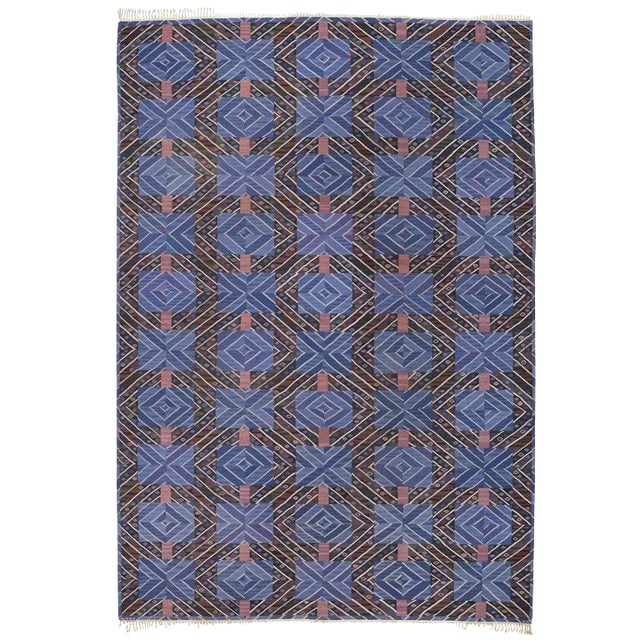 Marta Maas-Fjetterstrom Flatwoven Carpet For Sale