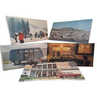 Vintage 1960's Vw Volkswagen Showroom Promo Posters - Set of 8 For Sale