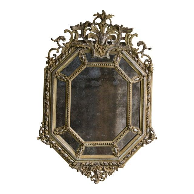 19th Century Pareclose Mirror For Sale