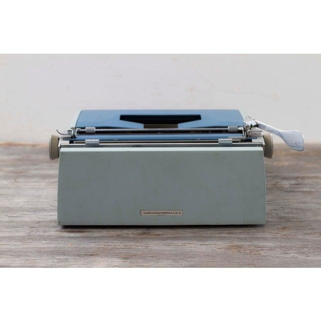 Vintage Underwood 21 Typewriter For Sale - Image 5 of 9