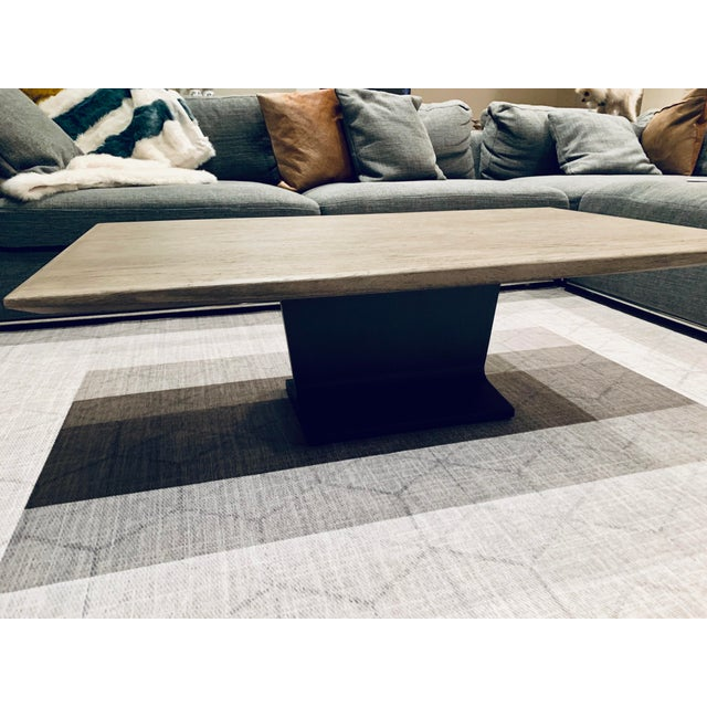 Restoration Hardware Restoration Hardware I-Beam Coffee Table For Sale - Image 4 of 5
