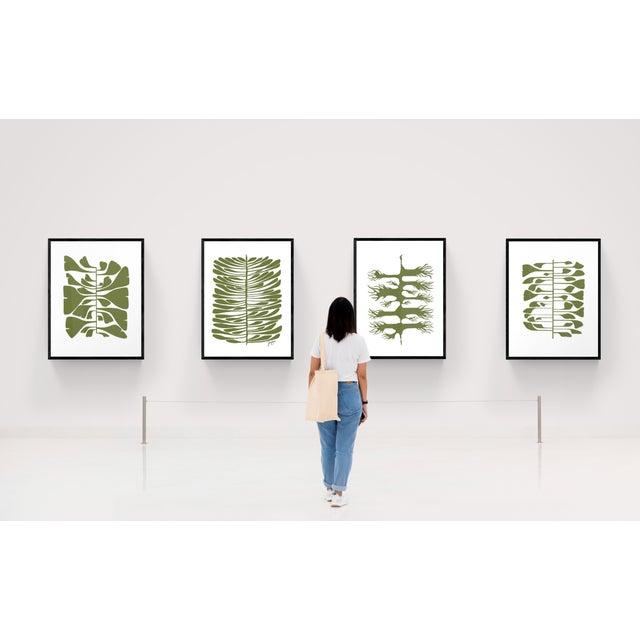 Green Hawaiian Pine Canvas Print For Sale - Image 4 of 4