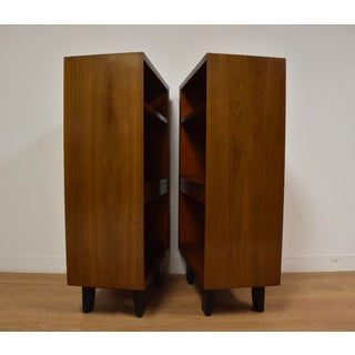 George Nelson for Herman Miller Walnut Nightstands- a Pair Preview