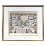 Image of Framed Map of Roman Empire For Sale