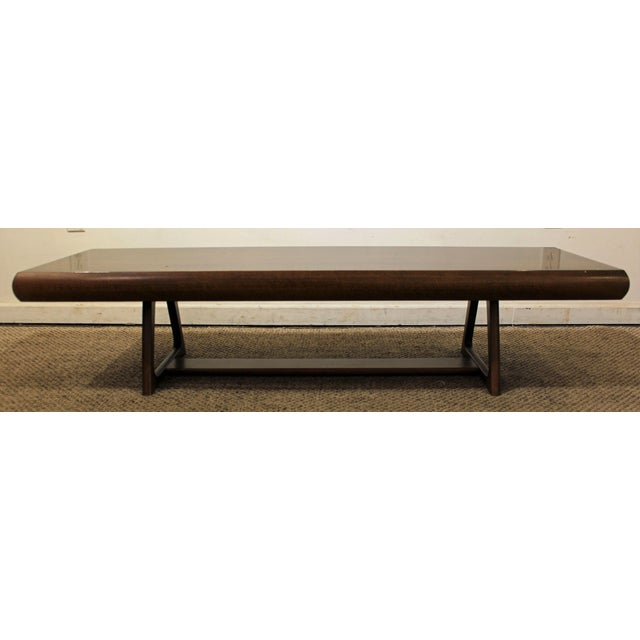 Mid-Century Danish Modern Adrian Pearsall Style Walnut Coffee Table - Image 4 of 11