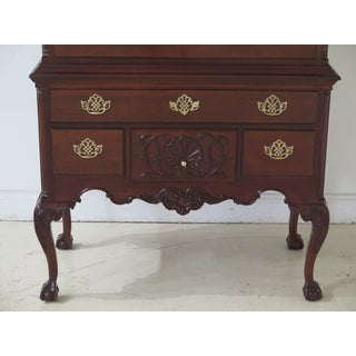 Councill Craftsmen Ball & Claw Rococo Mahogany Highboy Preview