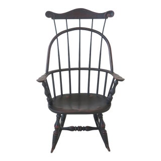 Country Bench Made Handcrafted Windsor Child's Rocker For Sale