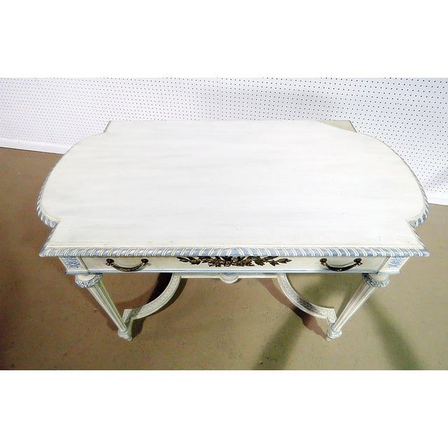 Swedish Louis XVI Style Library Table For Sale In Philadelphia - Image 6 of 11