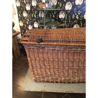 20th Century French Woven Wicker Basket Preview
