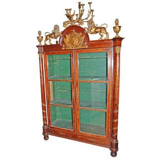 18th Century Irish Mahogany Bibliotecque