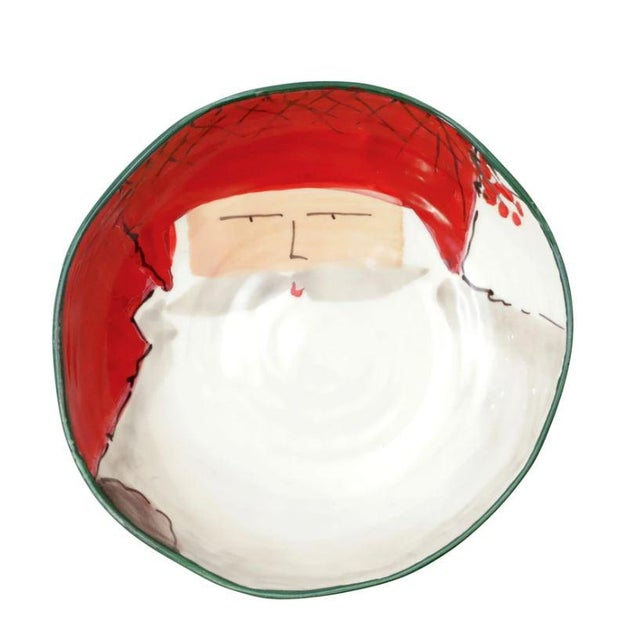 The Old St. Nick Pasta Bowl Set Set your table in holiday style this season with the Old St. Nick Assorted Pasta Bowls -...