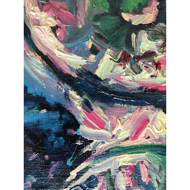 Abstract Paul Dinwiddie Mid-Century Style Abstract Painting For Sale - Image 3 of 5