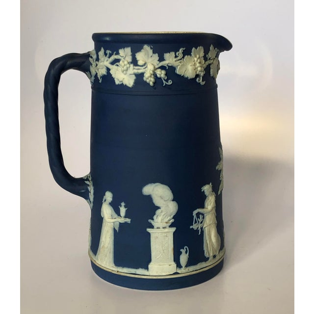 Antique Wedgwood Jasperware Pitcher For Sale - Image 9 of 9
