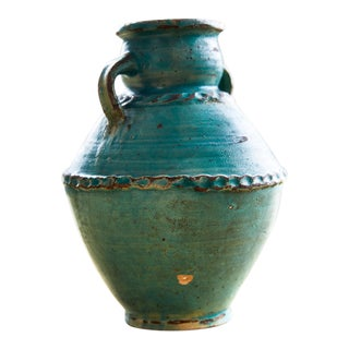 Mid-Century Moroccan Tamegroute Vase For Sale