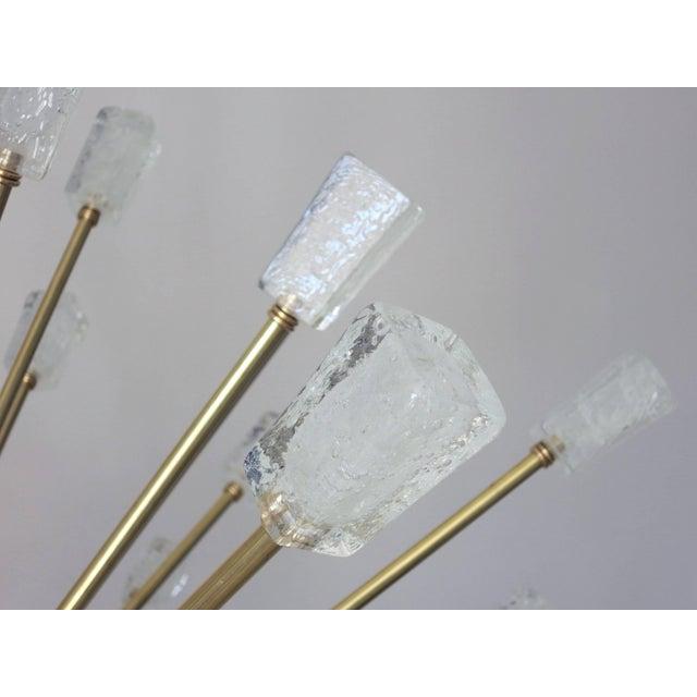 Italian Ice Cubes Sputnik Chandelier by Fabio Ltd For Sale - Image 3 of 6