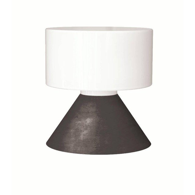 Samuli Naamanka for Innolux Oy 'Concrete' Table Lamp in Dark Gray For Sale - Image 10 of 10