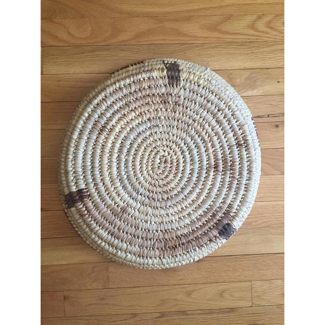 Vintage Native American Tohono Woven Basket For Sale - Image 9 of 11