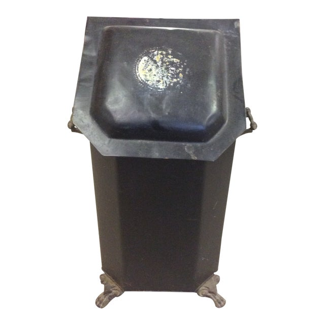 Antique Coal or Ash Bin/Scuttle For Sale