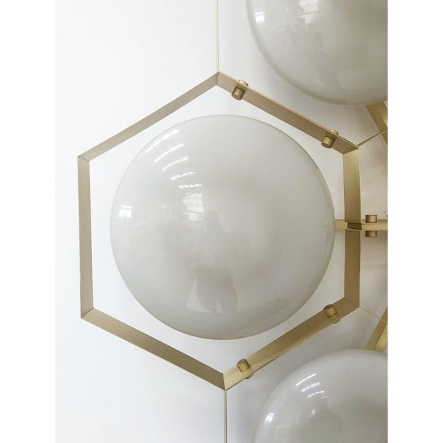 Hive Flush Mount by Fabio Ltd For Sale - Image 9 of 13