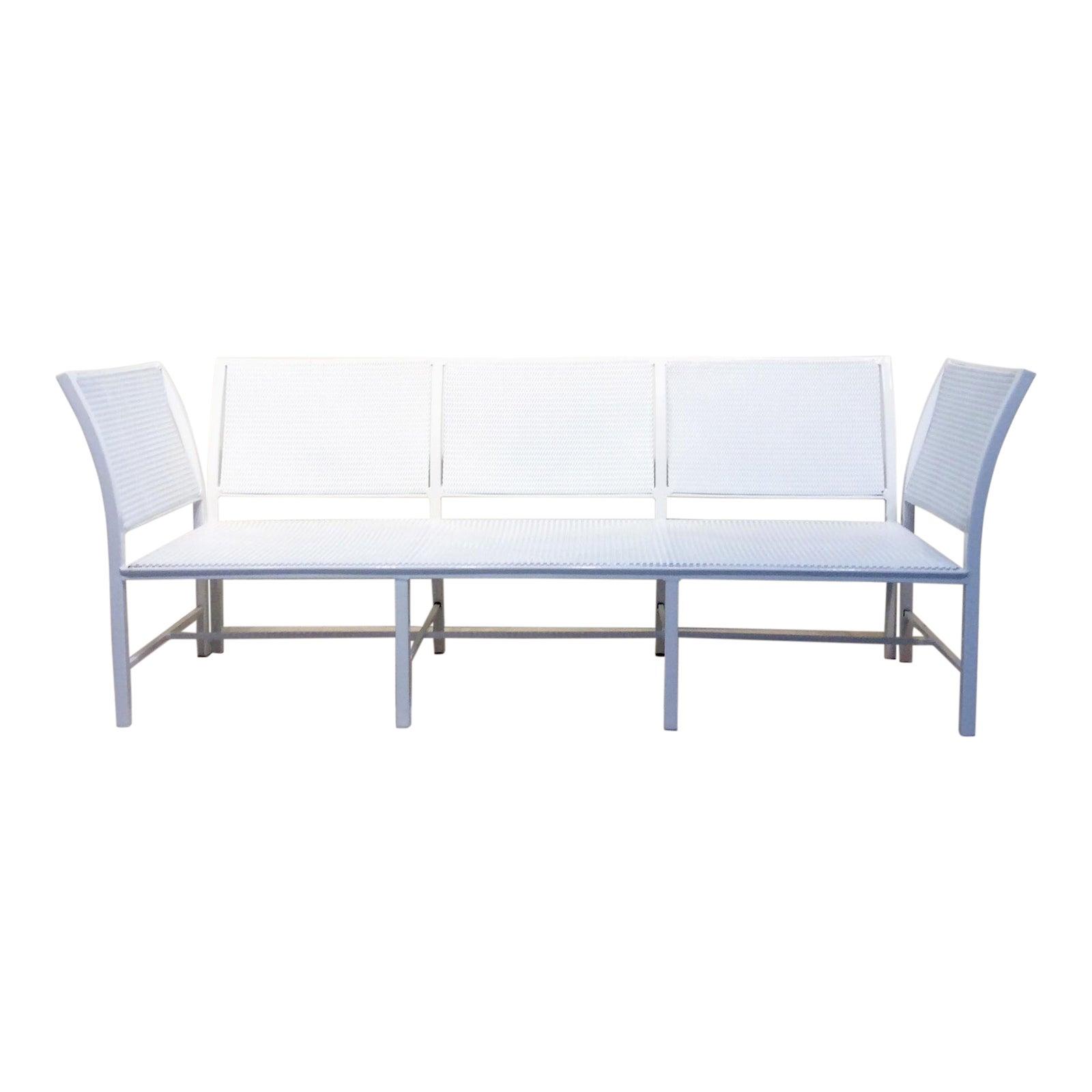 Mid-Century Modern Hall Bradley for Brown Jordan Alumicane Patio Sofa