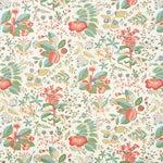 Schumacher Pomegranate Botanical Wallpaper in Document (8 yards)