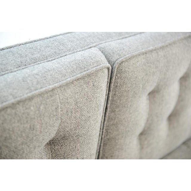 Custom Gray Modern Sofa - Image 6 of 7