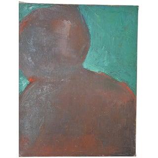 """Arthur J. Krakower """"Passion"""" Original Oil on Canvas c.1998 For Sale"""