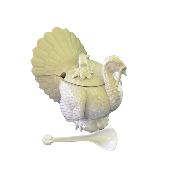 Fitz & Floyd Turkey Ceramic Soup Tureen For Sale - Image 12 of 12