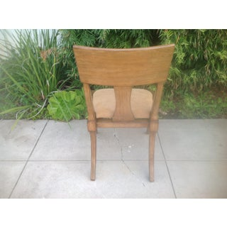 Modern Klismos Style Chair Preview
